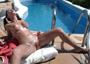 Teen swim naked